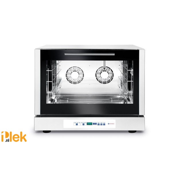 Hetelucht bakkerij oven met stoominjectie 400V 6400W