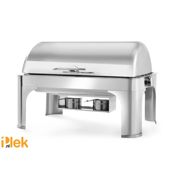 Chafing dish dripless roltop GN 1/1