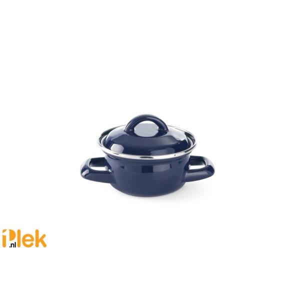 Soep-Sauspan Ø10x6cm 0,4L - Blauw