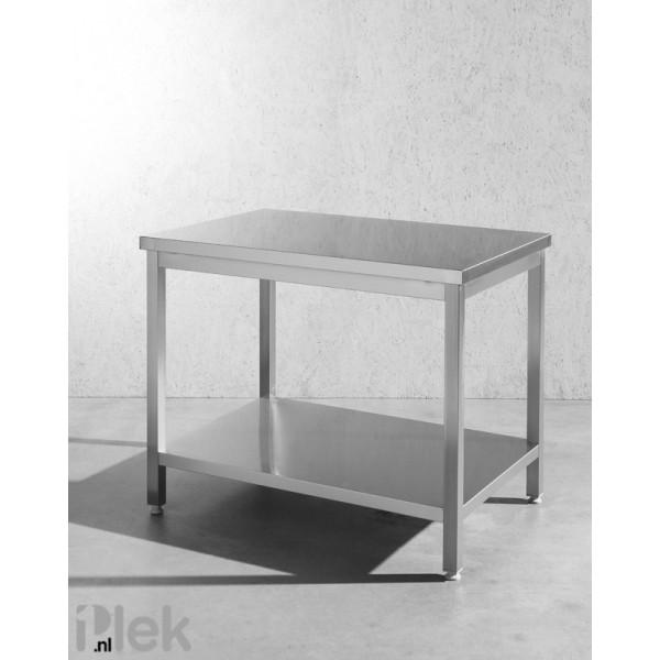 Werktafel rvs 1000x700x850mm