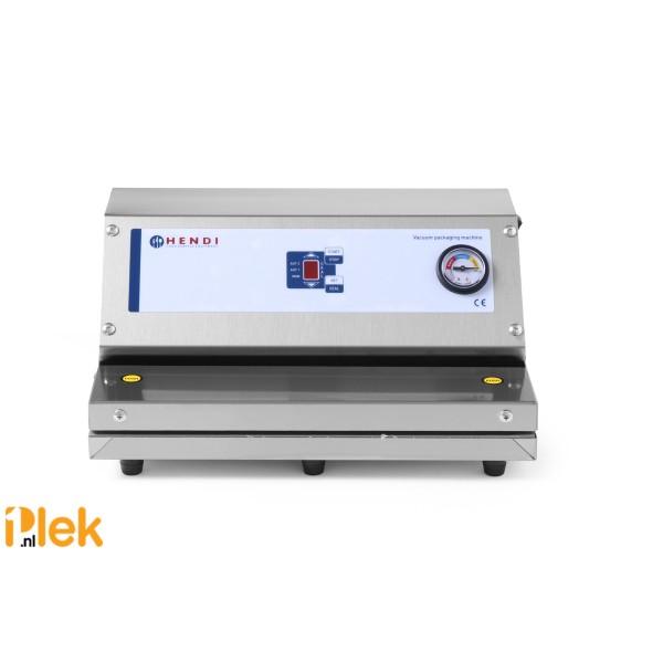 Vacuum verpakkingsmachine rvs 378x290x180mm 230V 150W