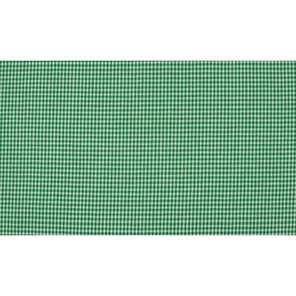Groen wit geruit katoen - Boerenbont mini ruit