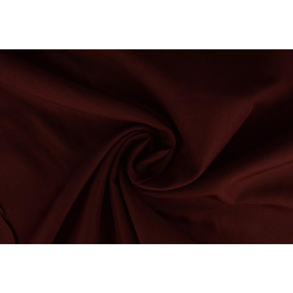 Brandvertragende stof bordeaux rood - 300cm breed - 12 meter