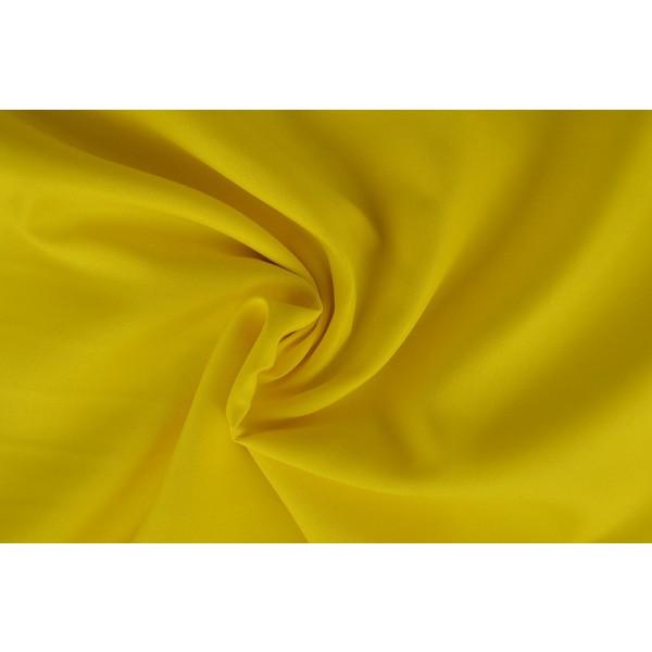 Brandvertragende stof geel - 300cm breed - 25 meter