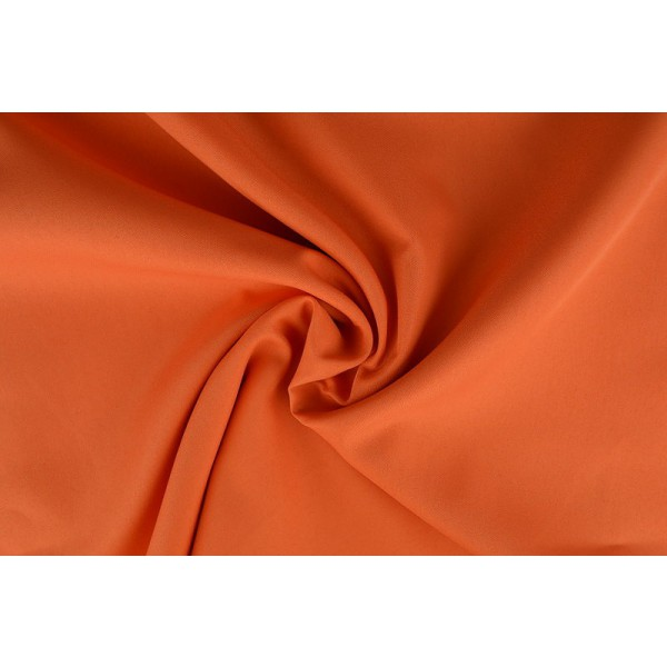 Brandvertragende stof oranje - 300cm breed - 25 meter