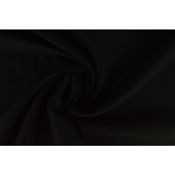 Brandvertragende stof zwart - 300cm breed - 25 meter