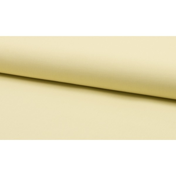 Katoen vanille per meter - Katoenen witte stoffen