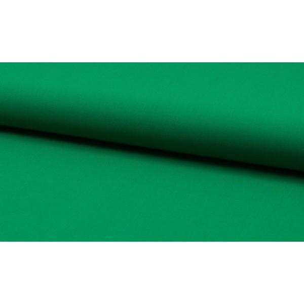 Katoen smaragd groen per meter - Katoenen groene stoffen