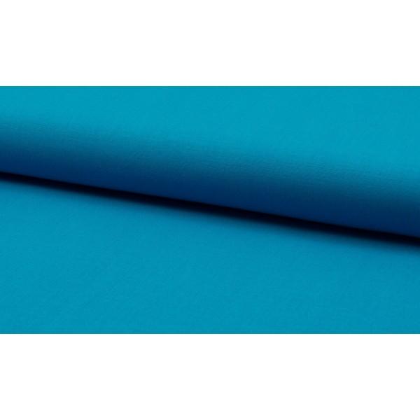Katoen oceaanblauw per meter - Katoenen blauwe stoffen
