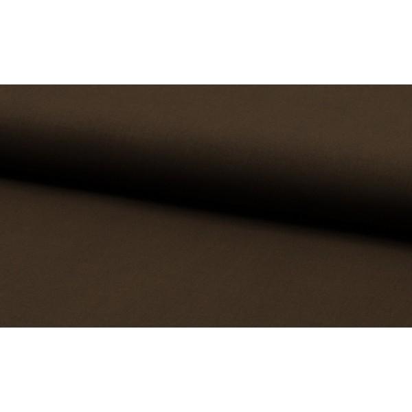 Katoen donkerbruin per meter - Katoenen bruine stoffen