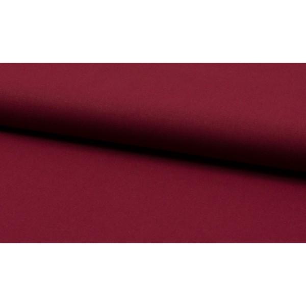Katoen bordeaux rood per meter - Katoenen rode stoffen