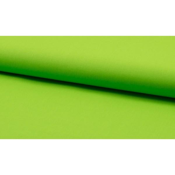 Katoen appel groen per meter - Katoenen groene stoffen