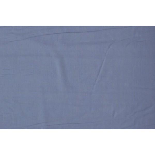 Katoen oudblauw - Katoenen stof op 10m rol