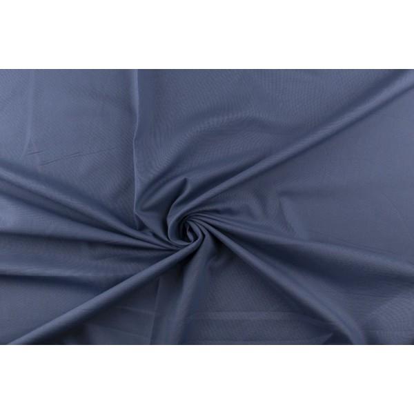 Katoen indigoblauw - Katoenen stof op 10m rol