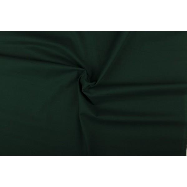 Katoen donkergroen - Katoenen stof op 60m rol