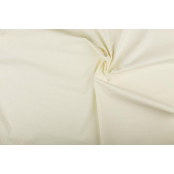 Katoen gebroken wit - Katoenen stof op 10m rol