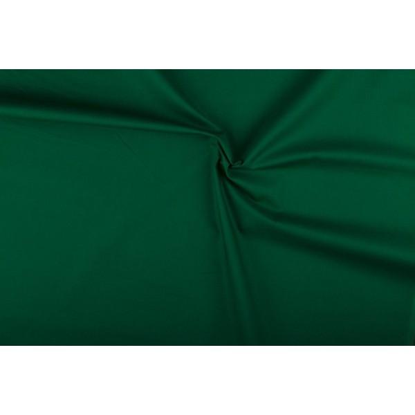Katoen groen - Katoenen stof op 10m rol