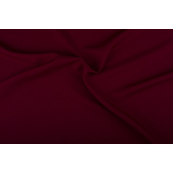 Texture stof bordeaux rood - 25m rol - Polyester