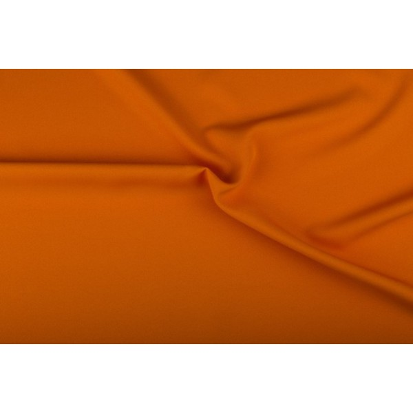 Texture stof oranje - 25m rol - Polyester