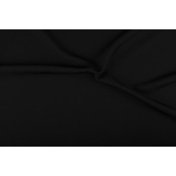 Texture stof zwart - 25m rol - Polyester