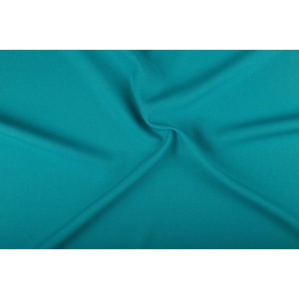 Texture stof aqua groen - 25m rol - Polyester