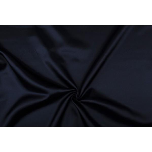 Satijn 15m rol - Marineblauw - 100% polyester