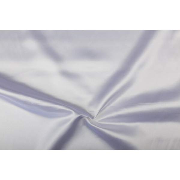 Satijn 15m rol - Wit - 100% polyester