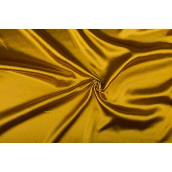 Satijn 50m rol - Goud - 100% polyester
