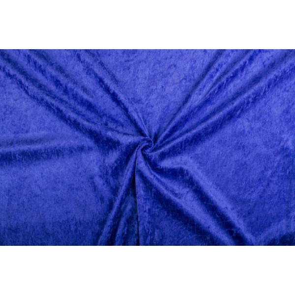 Velour de pannes lavendel - 10m stof op rol