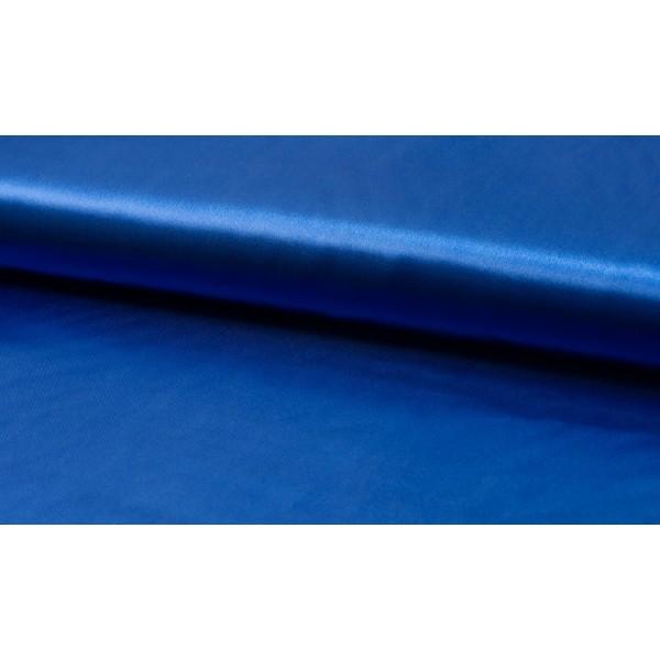 Satijn Deluxe Midnachtsblauw - Glanzende blauwe stof