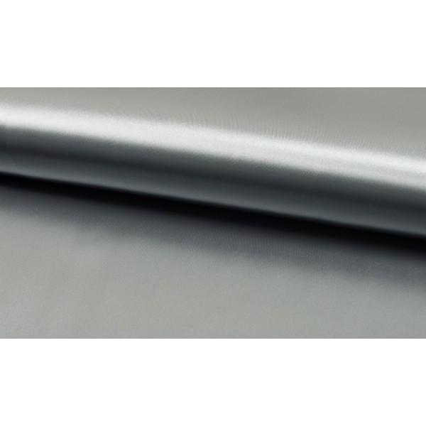 Satijn Deluxe Zilver Grijs - Glanzende grijze stof