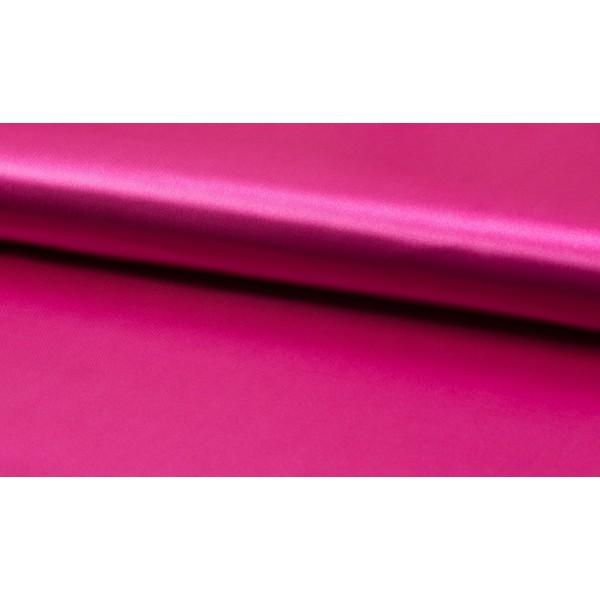 Satijn Deluxe Fuchsia - Glanzende roze stof