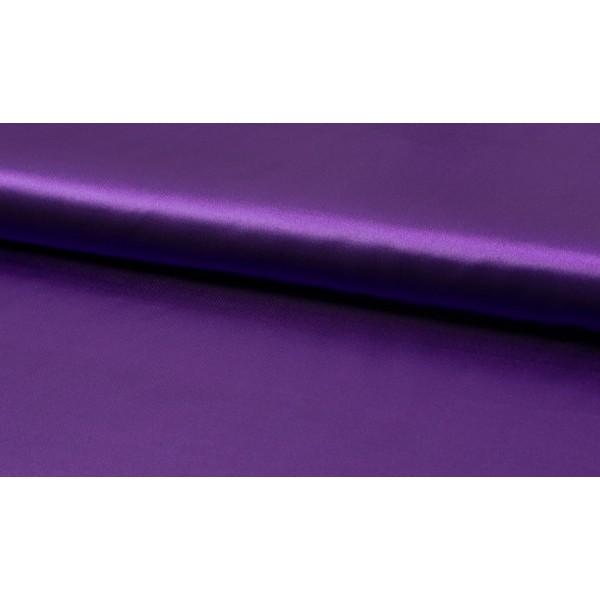 Satijn Deluxe Paars - Glanzende paarse stof