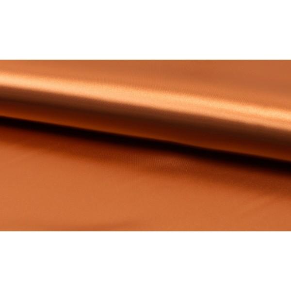 Satijn Deluxe Brons - Glanzende bruine stof