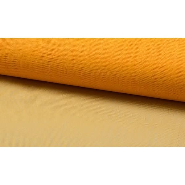 Tule stof Geel - 40m per rol - Nylon
