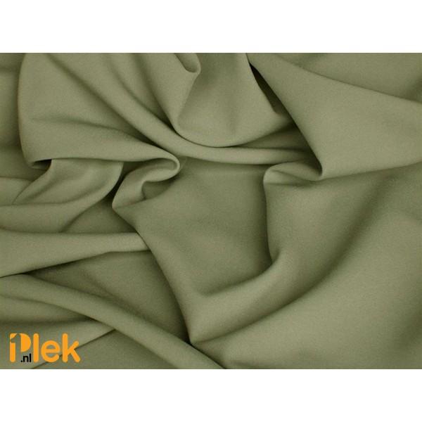 Texture stof Donkerzee Groen - Polyester stoffen