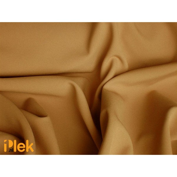 Texture stof Camel - Polyester stoffen