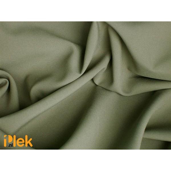 Texture stof Donkerkaki - Polyester stoffen