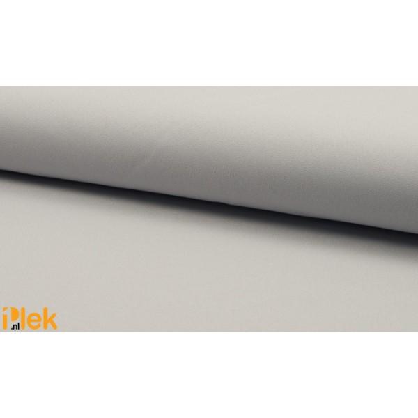 Texture stof Zilver Grijs 40m per rol - Polyester