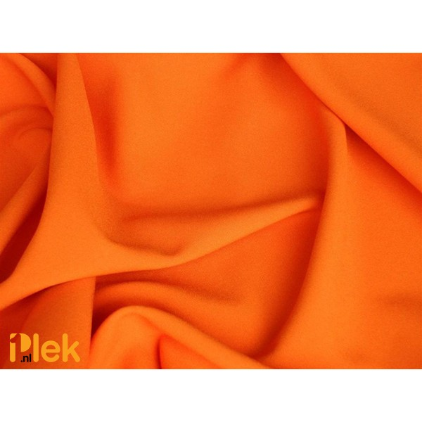 Texture stof Oranjerood 20m per karton  - Polyester