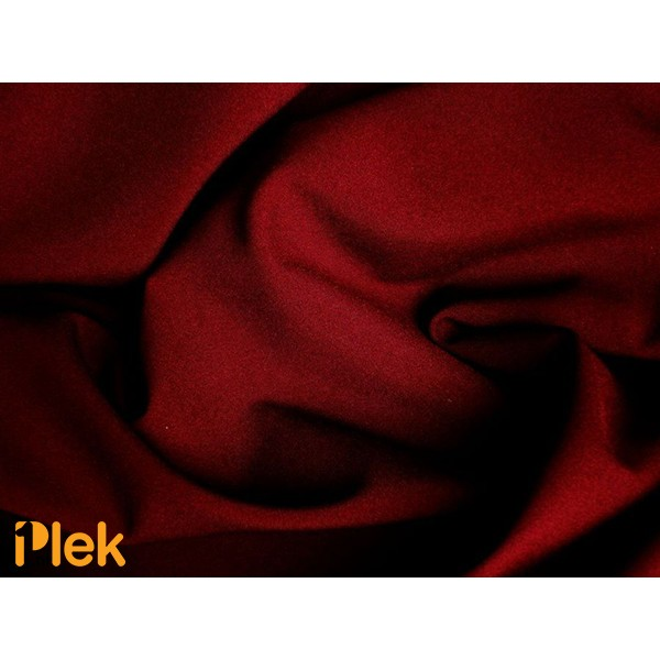 Texture stof Bordeaux Rood 40m per rol - Polyester