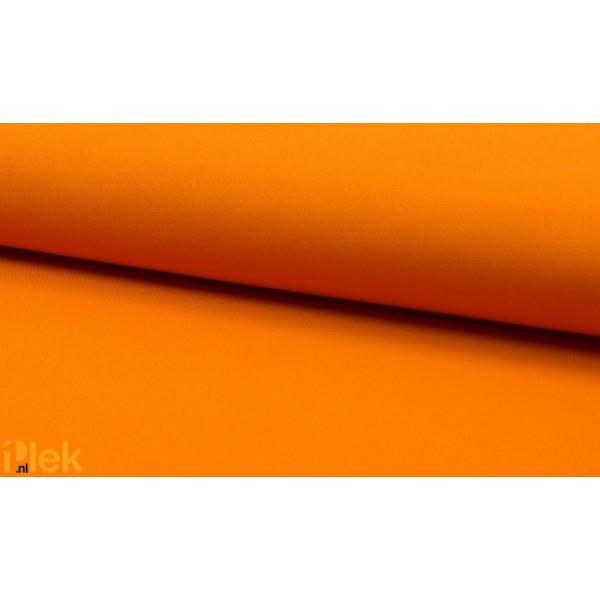 Texture stof Konings Oranje - Polyester stoffen