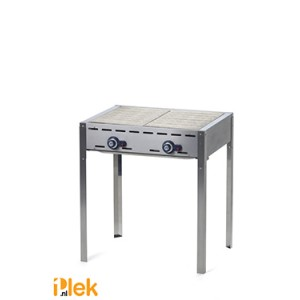 Gasbarbecue 2 br. Green Fire Kitchen Line