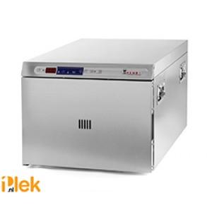 Lage temperatuur oven rvs 495x690x415mm 230V 1200W