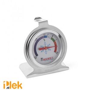 Koelkast thermometer 60x70mm rvs -50 tot 25 graden