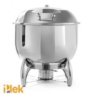 Soep chafing dish rond 405x480x460mm rvs 11 l
