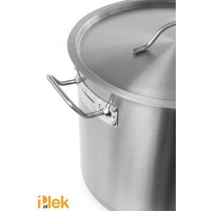 Kookpan met deksel 45x45 cm rvs 71L Budget