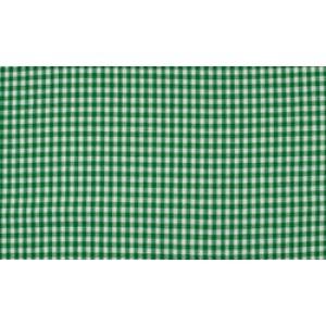 Groen wit geruit katoen - Boerenbont kleine ruit