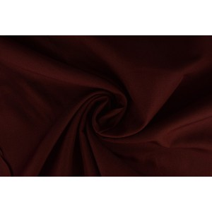 Brandvertragende stof bordeaux rood - 300cm breed - 12 meter