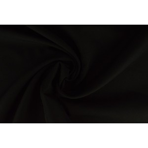 Brandvertragende stof zwart - 300cm breed - 12 meter